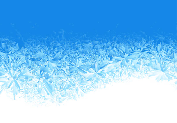 Best Frost Texture Illustrations, Royalty.