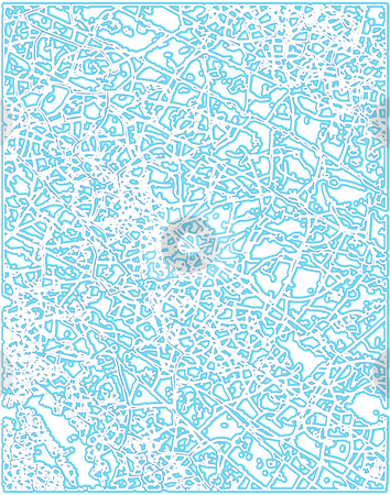 Frost pattern stock vector.