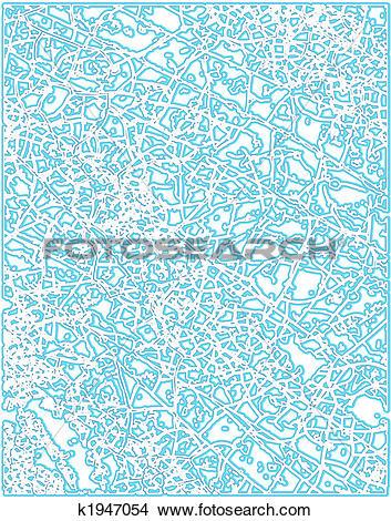 Clipart of Frost pattern k1947054.