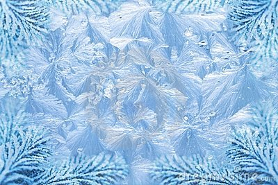 Frost patterns clipart #20