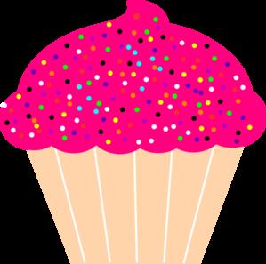 Cartoon Cupcake Clipart.