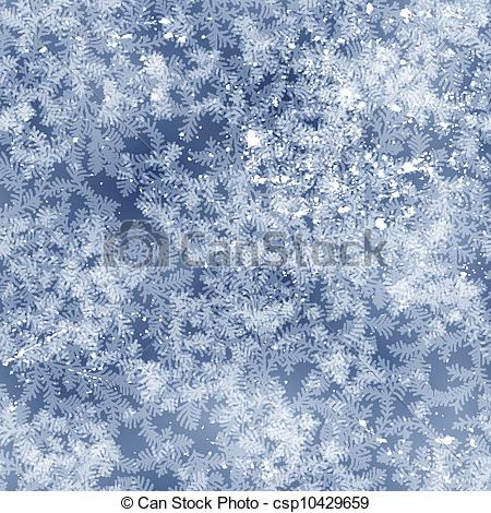 Frost patterns clipart #2
