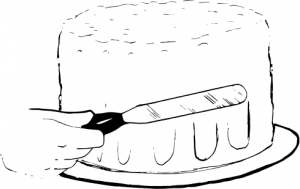 Spatula For Frosting Clip Art Download.