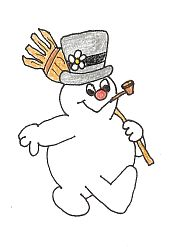 Frosty The Snowman Clipart.