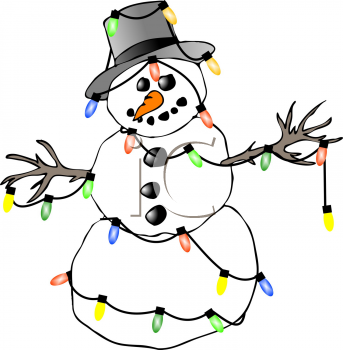 Frosty the snowman clip art free.