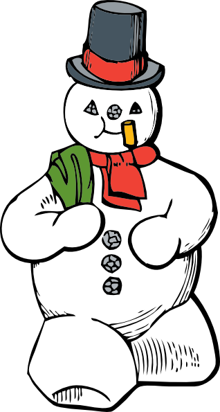 Frosty Clip Art.