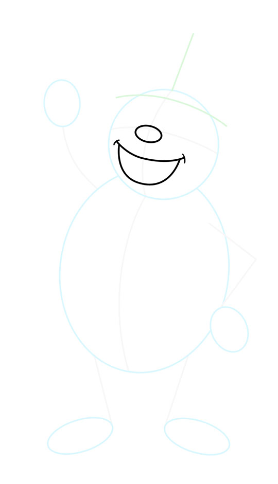 Frosty the Snowman Drawing Lesson.