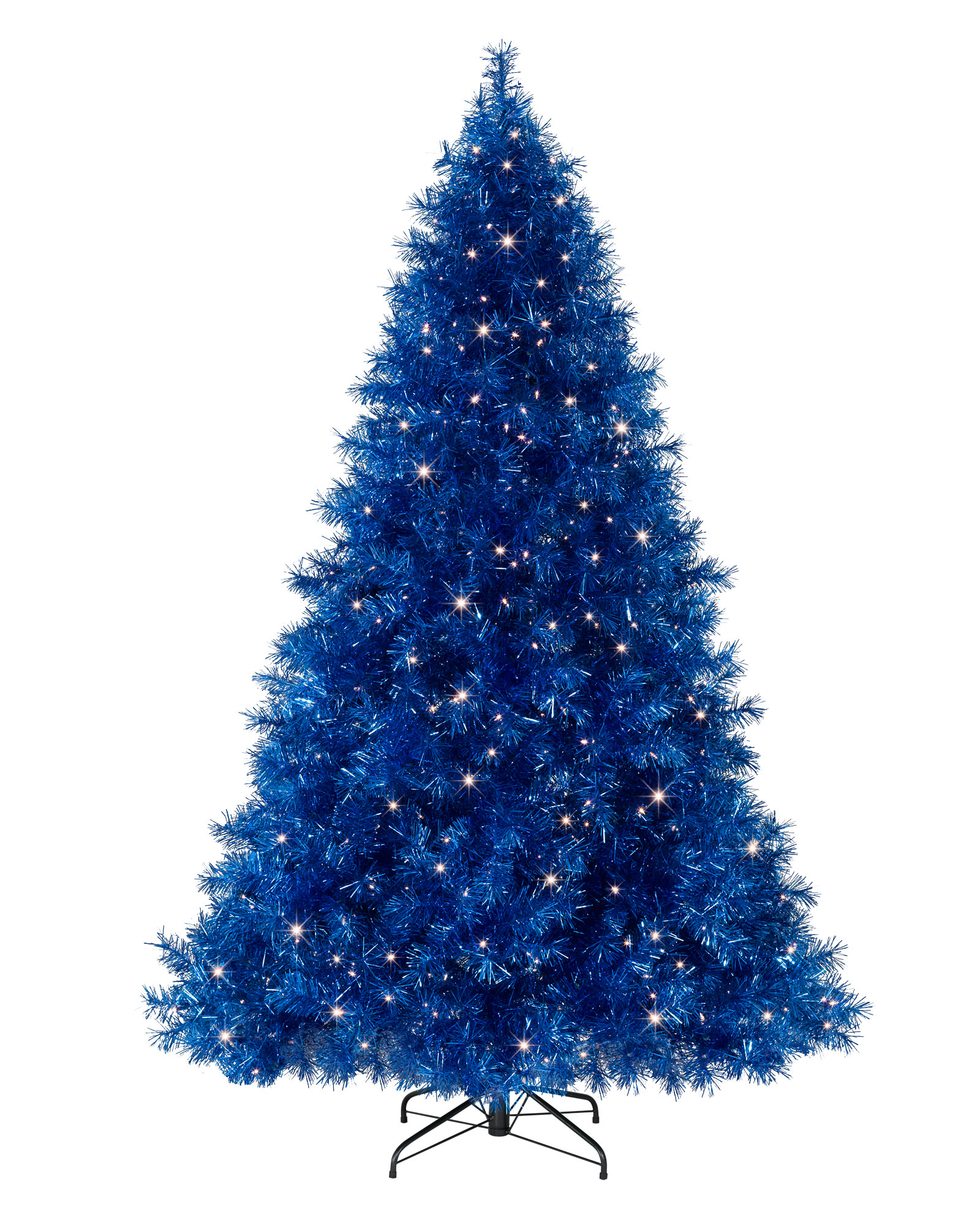 Blue Christmas Tree Clipart.