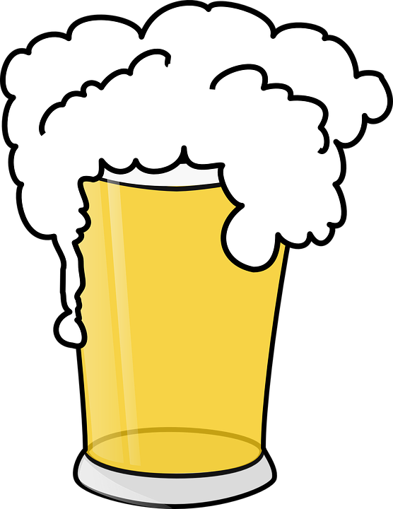 Free vector graphic: Beer, Froth, Drink, Pint, Alcohol.