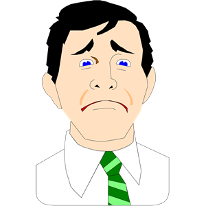Frown Clipart.