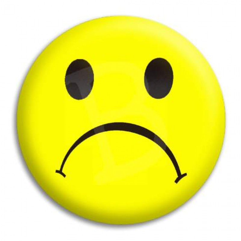 Frown Face Clipart.