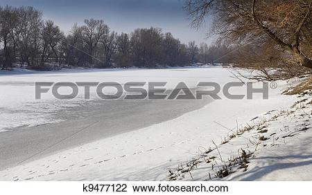 Stock Photo of Frozen death channel k9477122.