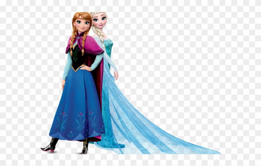 Frozen Clipart Elsa Anna.