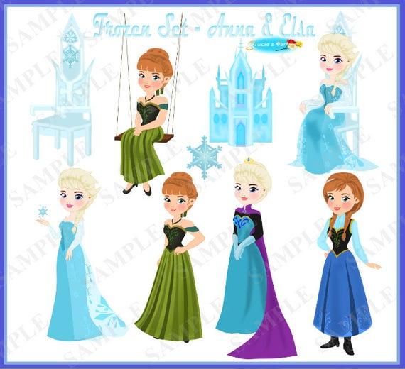 Frozen Clipart Set Part 2.