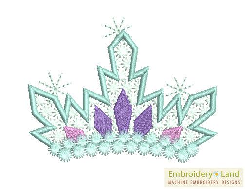 School Hair Clip Embroidery Designs