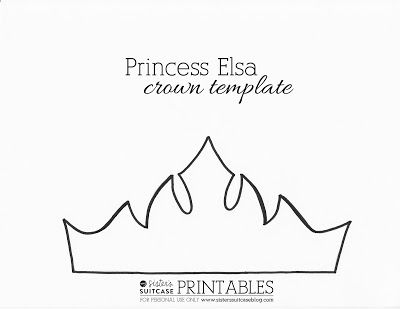frozen crown clipart #19