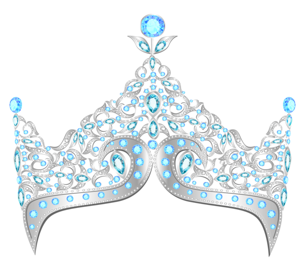 Diamond Crown PNG Clipart.