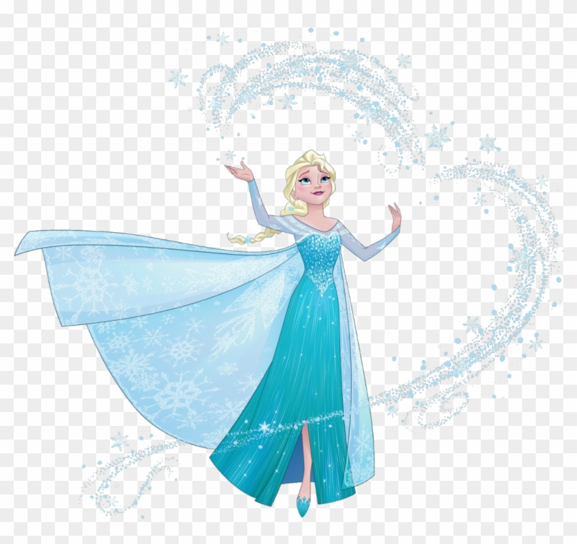 Elsa With Snow Magic.