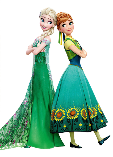 Download Free png Elsa and Anna Frozen Fever Re.