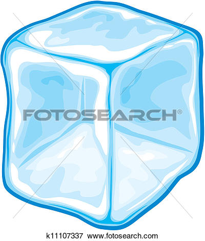 Drawings of ice cubes k8262164.