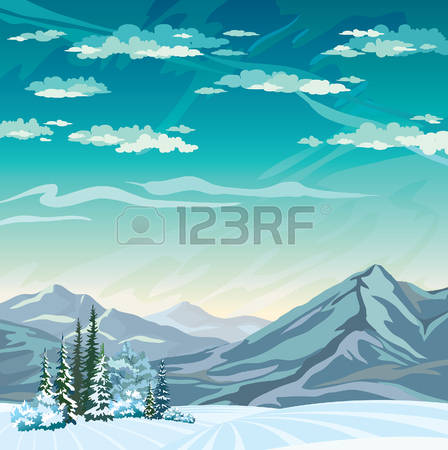 4,773 Frozen Landscape Stock Vector Illustration And Royalty Free.
