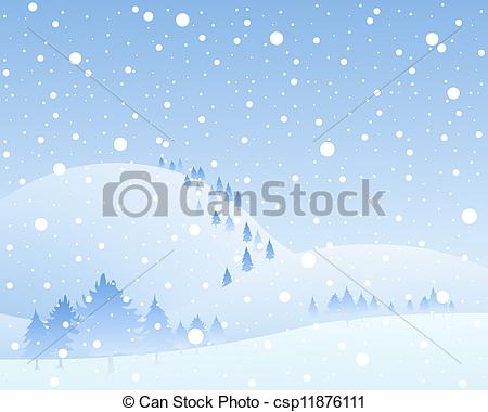 Vector Clip Art of frozen background.