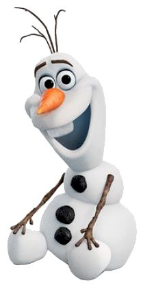 Olaf From Frozen Skating Clipart.