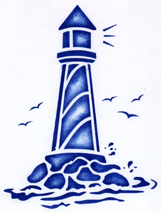 lighthouse clipart free #9
