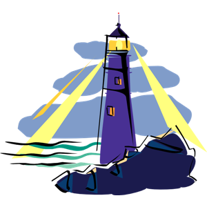 New lighthouse clipart #5