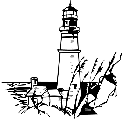 lighthouse clipart free #11