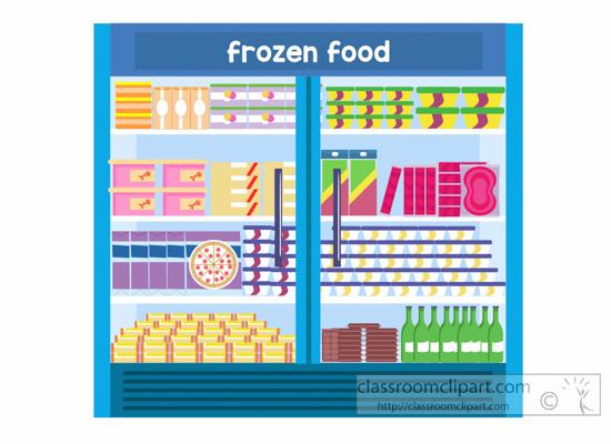 Grocery Clipart : frozen.