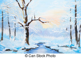 Frozen river Illustrations and Clip Art. 263 Frozen river royalty.
