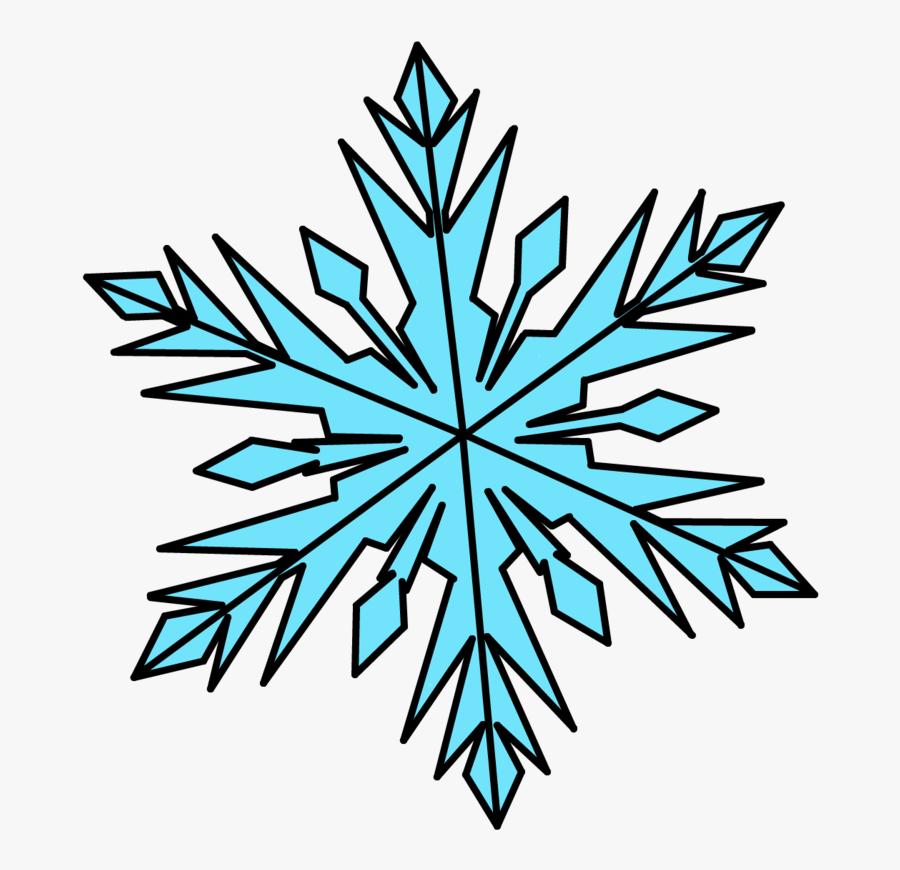 Transparent Frozen Snowflake Png.