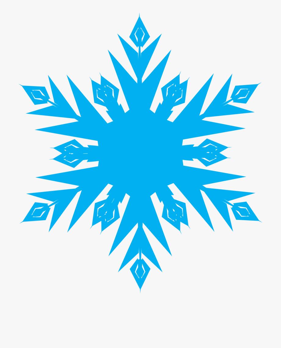 Frozen Snowflakes Clipart.