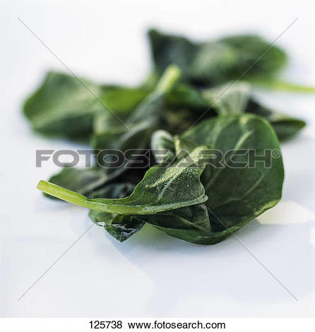 Pictures of Frozen spinach shoots 125738.