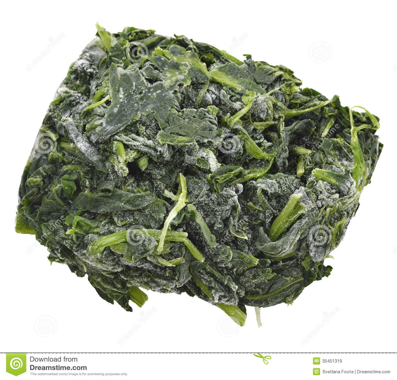 Frozen Spinach Stock Photos, Images, & Pictures.