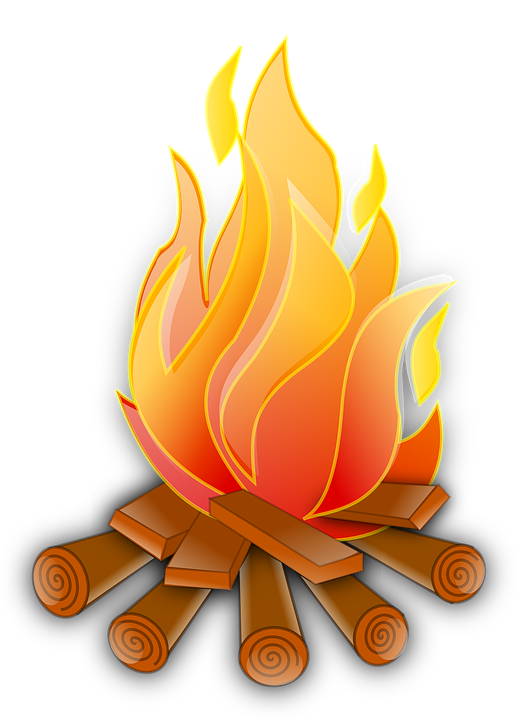 Free photo Heat Fire Camp Warmth Wood Flames Bonfire.
