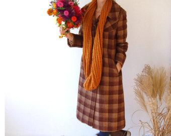 Vintage winter coat.