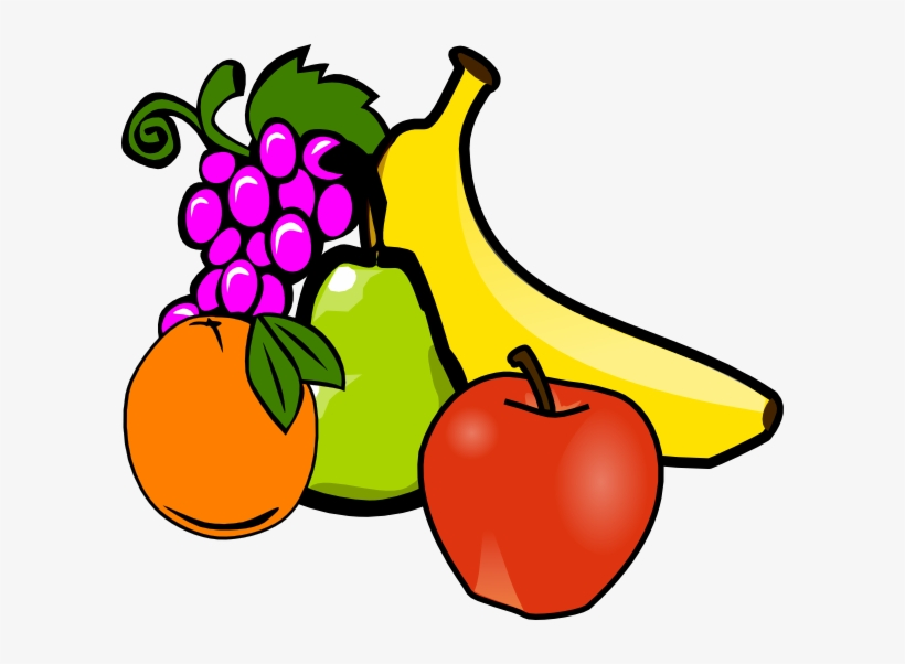 Fruit And Vegetables Clipart Fruit Clipart Png.