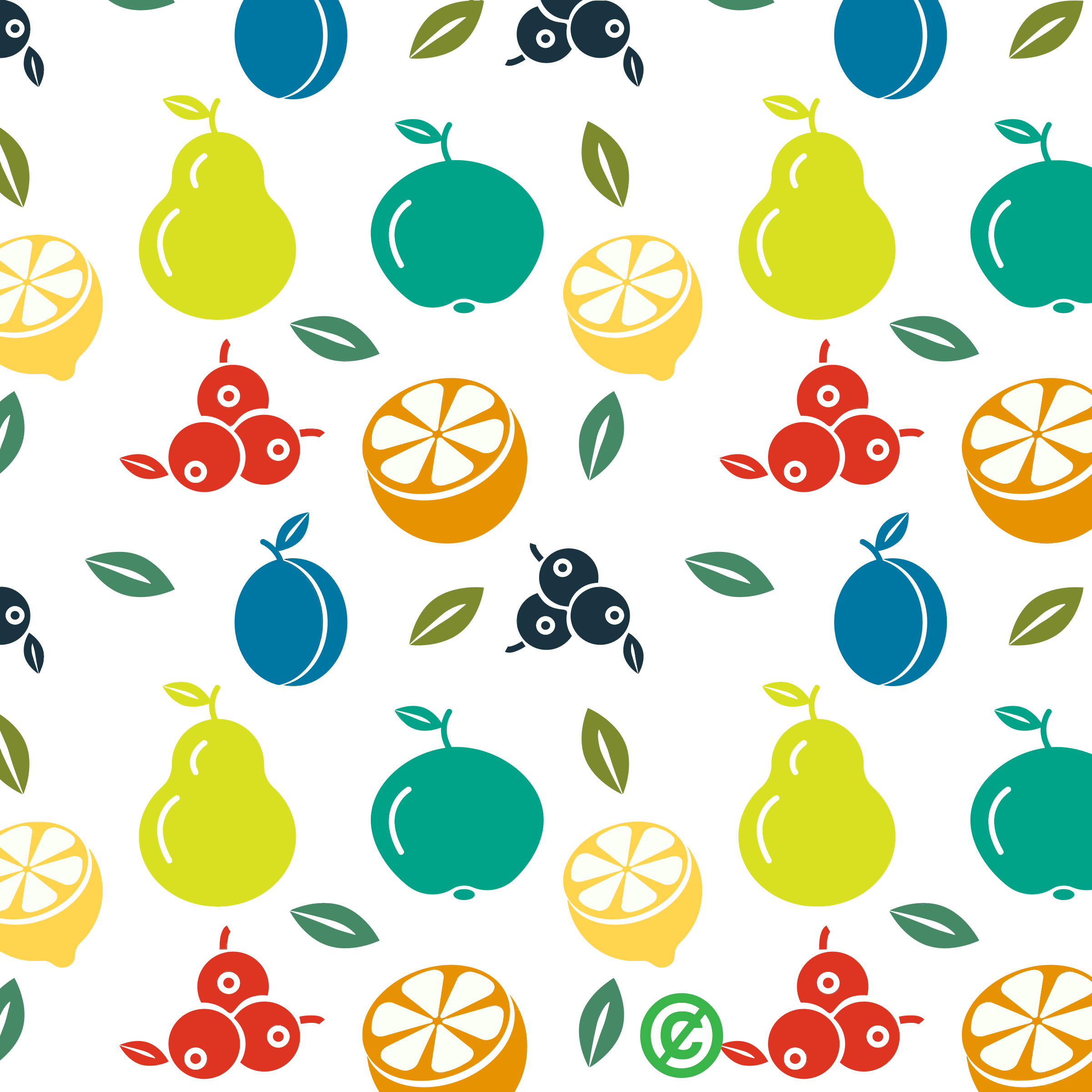 Fruit Background Cliparts.