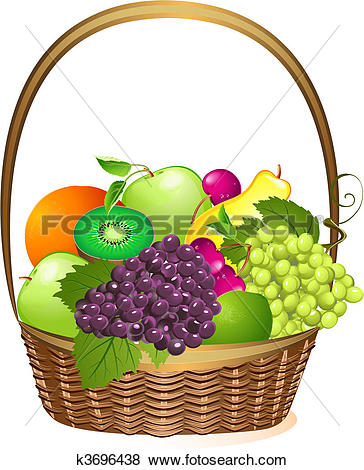 Fruit basket Clipart Royalty Free. 2,381 fruit basket clip art.