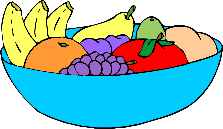 Fruits Basket Clipart.