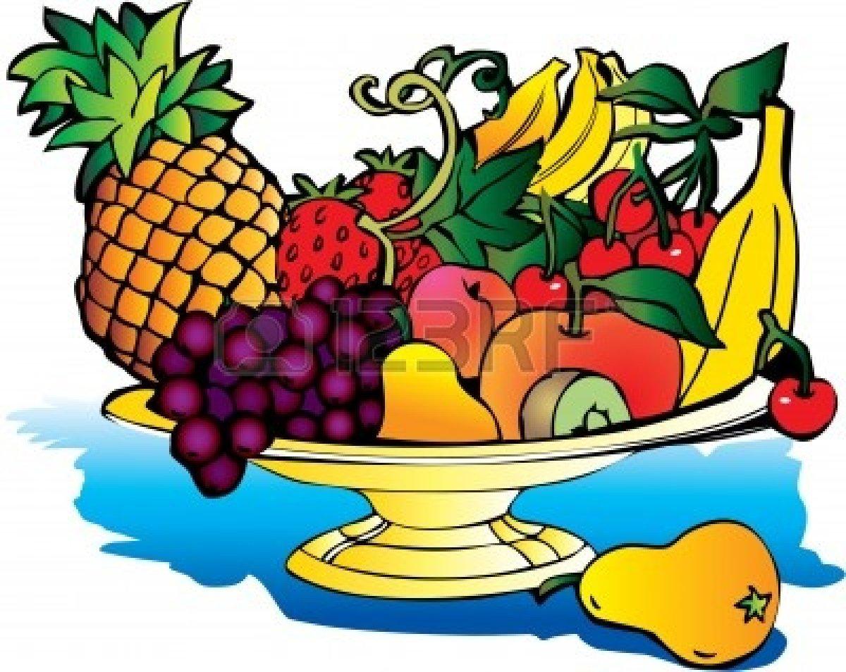 Fruit Basket Clipart Free.
