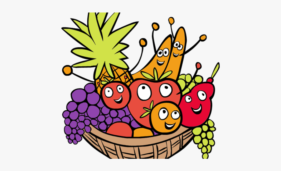 Basket Clipart Grape.
