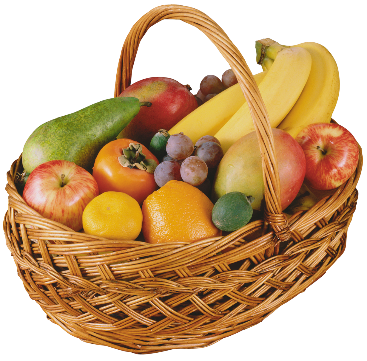 Fruit Basket PNG Clipart.
