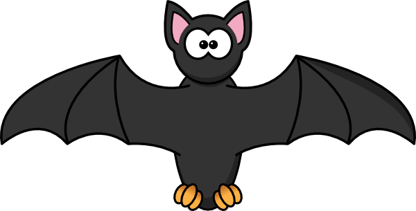 Fruit bat clipart.