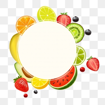 Fruit Border Png, Vector, PSD, and Clipart With Transparent.