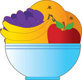 Fruit bowl Clipart and Stock Illustrations. 619 fruit bowl vector.