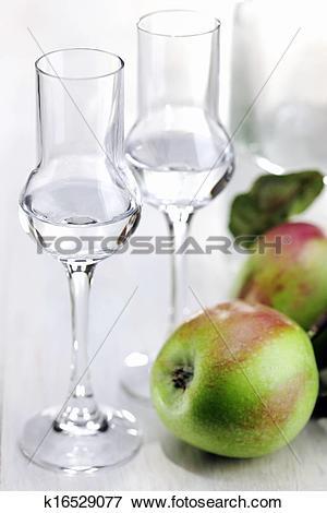 Picture of Fruit Brandy, Apple Brandy, Grappa k16529077.