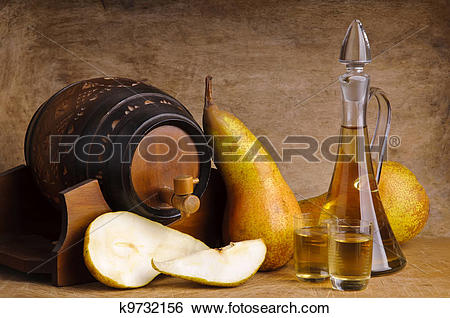 Stock Images of fruit brandy k9732156.